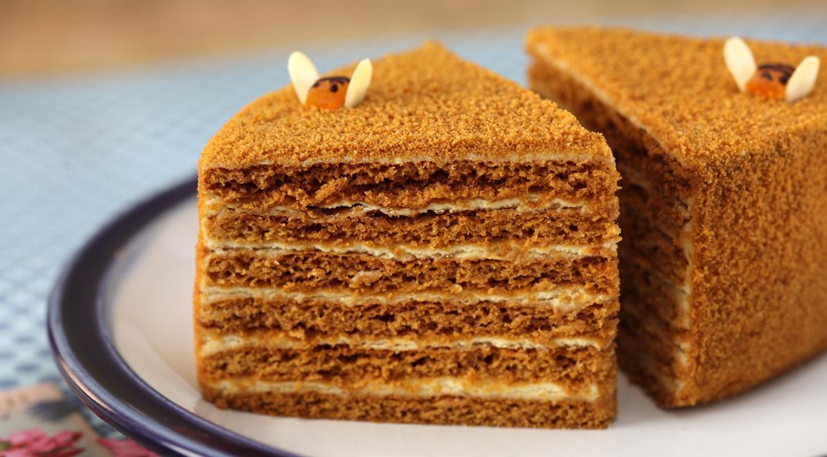 Asian honey cake